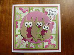 MH made by hand: Uiltjes kaarten Deze uiltjes kaarten vonden we heel leuk om te maken!!!