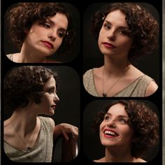 Charlotte Riley in Easy Virtue            {I loved the way she looked in this. Red lips & finger waves, beautiful.}