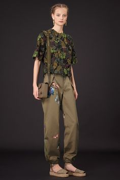Love the butterfly top!  Valentino | Resort 2015 Collection | Style.com