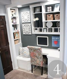 Creative Nooks, Office Closets, and Corners