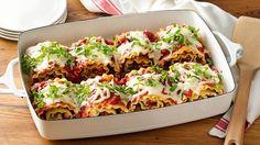 NEW Make-Ahead Cheesy Spinach Lasagna Roll-ups