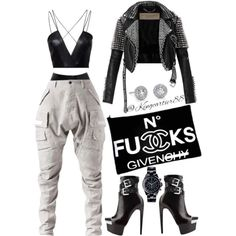"""Jacket: #BURBERRY Bodysuit: #NELLY (RECONSTRUCTED)  Shorts: #JUSTINLATEX Pants: #JULIUS Shoes: @HMNALNS…"""""""
