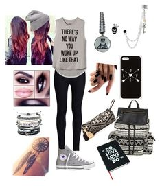 """First day of school"" by joyceunicorn ❤ liked on Polyvore"
