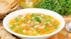 Sopa de legumes com quinoa...