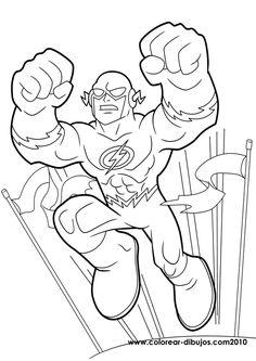 Shrek Coloring Page See More Superamigosparacolorear3 595x842 Flash GordonSuper