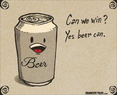 Yes beer can! @RevelryRichmond www.RevelryOnRichmond.com #craftbeer #Houston