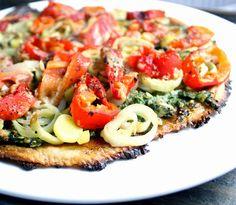 Oppskrift Blomkålpizza Glutenfri og vegansk Pizzabunn