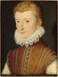 A portrait of Henri de Lorraine, Duc d'Guise.