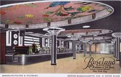 A View Of Roseland Ballroom, New York Poster Print By Mary Evans / Jazz Age Club Collection X New York Poster, Roseland Ballroom, Boston Massachusetts, Jazz Age, Saving Money, Poster Prints, Places, Evans, Mary