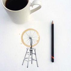 tekeningen-koffie-vlekken-2