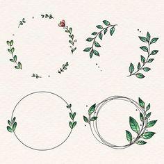 Download Laurel Wreath Set for free