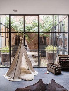 Central courtyard | Design: Marius Haverkamp of Flow | Photography: Louise Desrosiers