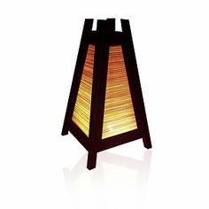 Asian Oriental Design Bamboo Art Bedside Floor Table Lamps Electrical Home Decor | eBay
