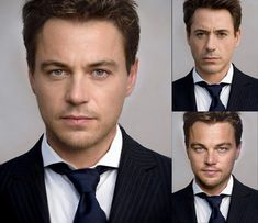 Robert Downey Jr and Leonardo Dicaprio need to have a love child.