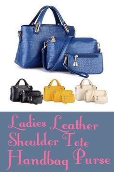 Do you love fancy purses?  This is what every woman's needs on either a day to day basis or when there is just too many items.   See More Here => https://www.dailyoffersandsteals.com/collections/womens-handbags/products/ladies-leather-shoulder-tote-handbag-purse