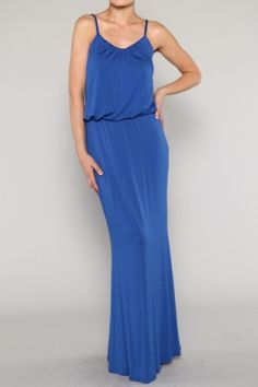 DRESS-Solid Maxi Dress-MORE COLORS AVAILABLE