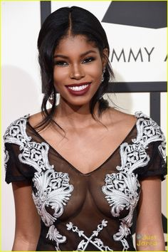 Full sized photo of Diamond White Goes Sheer & Lacy For Grammys 2016 and diamond white 2016 grammy awards red carpet Check out the latest photos, news and gossip on celebrities and all the big names in pop culture, tv, movies, entertainment and more. Facial Aesthetics, Pretty Makeup Looks, How To Make Hair, Pop Culture, Red Carpet, Awards, Celebrities, Beauty, 1