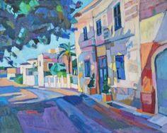 """Saatchi Art Artist Maja Đokić Mihajlović; Painting, """"Memories of Malta's streets"""" #art"""