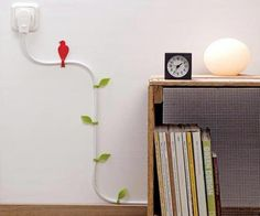 How to disguise an electrical cord