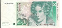 20 Deutsche Mark 1990