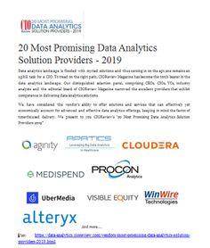 Top Data Analytics Companies - Technology Blog 1 - Medium Consulting Firms, Competitor Analysis, Data Analytics, Digital Marketing Strategy, Finance, Ebooks, Technology, Medium, Reading