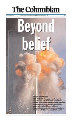 Sept. 11, 2001: Nearly 20 Al-Qaeda terrorists hijacked four passenger jets. They intentionally crashed two planes into the Twin Towers of the World Trade Center in New York City. Another plane crashed into the Pentagon in Arlington, Virginia. The fourth jet crashed into a field near Shanksville, Penn.