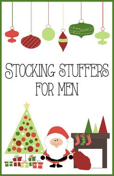 Great gift ideas for the men in your life - some can be stuocking stuffers or wrapped gifts! KristenDuke.com