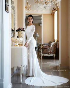 10 Amazing Wedding Dresses For A Deserving Bride Inexpensive Wedding Dresses, Long Wedding Dresses, Elegant Wedding Dress, Bridal Dresses, Wedding Gowns, Dhgate Wedding Dress, Mermaid Wedding Dress With Sleeves, Sweetheart Wedding Dress, Lace Dress With Sleeves