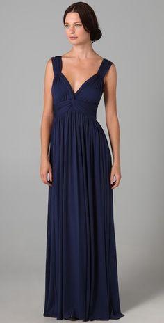 Gorgeous maxi bridesmaid dress