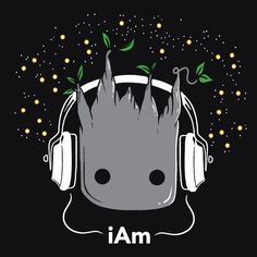 """i Am"" Cute Groot T-Shirt 