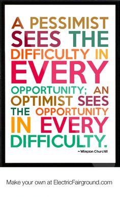 Winston Churchill Framed Quote