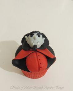 little vampire cupcake