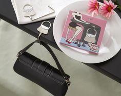 Purse Valet Stainless Steel Handbag Holder Favour