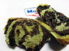 Brownied matcha brioche