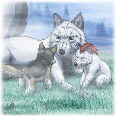 Mother Wolf by SheltieWolf.deviantart.com on @DeviantArt