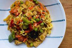 Zdjęcie Wok, Spaghetti, Ethnic Recipes, Woks, Noodle