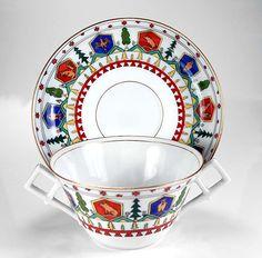 RARE ANTIQUE HAND PAINTED 19TH CENTURY RUSSIAN KORNILOV PORCELAIN CUP & SAUCER! in Antiques, Decorative Arts, Ceramics & Porcelain, Cups & Saucers | eBay