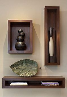 Functional & Stylish Wall Shelves Ideas That You Can Make By Yourself To Decorate Your Interior - Holzwand - Shelves in Bedroom Paint Colors For Living Room, Room Paint, Living Room Decor, Paintings For Living Room, Small Living Rooms, Home Interior, Interior Decorating, Interior Design, Lobby Interior