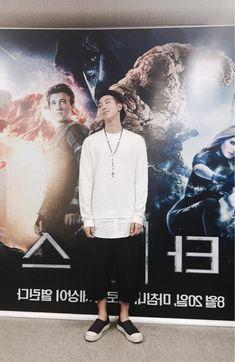 BTS Tweet - Rap Mon (selca) 150812 -- 스타 #김데일리 -- tran:Star #KimDaily -- Trans cr; Sihyun @ bts-trans