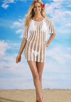Angel Sleeve Crochet Tunic Free Pattern | Beautiful Crochet Stuff