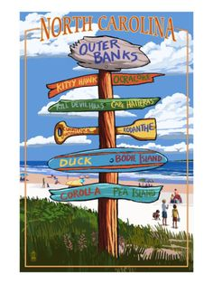 Outer Banks, North Carolina - Sign Destinations