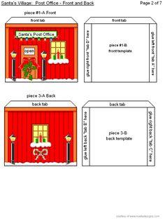 Santa's Post Office - Easy Print