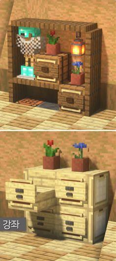 Minecraft Bauwerke, Minecraft Villa, Construction Minecraft, Minecraft Cottage, Minecraft Welten, Cute Minecraft Houses, Minecraft Houses Survival, Minecraft Blueprints, Minecraft House Designs