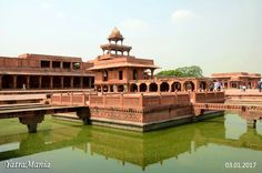 Fatehpur Sikri: Founded by the great Mughal emperor Akbar, in the year 1569, Fatehpur Sikri served as the capital of the Mughal Empire during the years 1571-1585. Named as Fateh (meaning victory) in the beginning, it was later known as Fatehpur Sikri. It was home for the birth of navaratnas (9 jewels). It stands as a representation of the infamous Mughal architecture with unique designs and artworks.