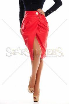 PrettyGirl Addictive Red Skirt