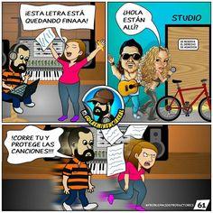 Via Instagram LAEMINENCIAreal Correee @dannaxpadron... No necesariamente #Shakira y #CarlosVives a veces nos toca esconder todo cuando aparecen los fusileros jajaja. #laeminenciaLOL  #ProblemasDeProductores #ProducerProblems #Producermemes #laeminencia #memes #tw