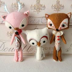 Woodland Stufflings PDF Pattern Instant Download by Gingermelon