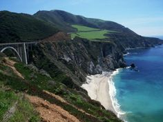 The cliffs & bridges of Big Sur, Ca. #Big Sur #Bridges #California