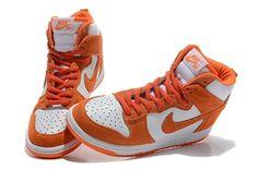 8cc78c08c6f8 Dunk High Womens Nike Dunk Shoes White Orange  orange  nikes