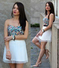 H&M Skirt, Zara Shoes